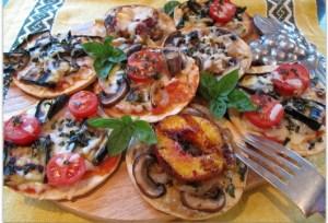 Pizzetta, pizza appetizers