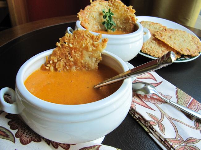 Roasted Tomato Soup   ShesCookin.com
