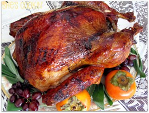 Brined Turkey for Thanksgiving - ShesCookin.com