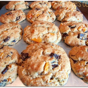 Chocolate and Persimmon Muffins