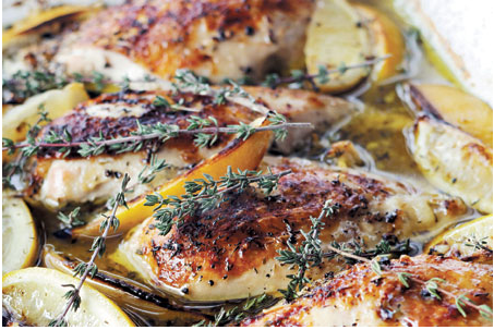 ina garten's lemon chicken breast | she's cookin' | food and travel