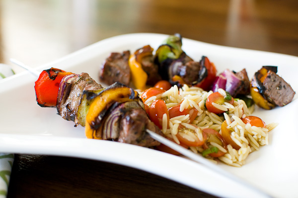 Grilled Lamb Kebabs | ShesCookin.com