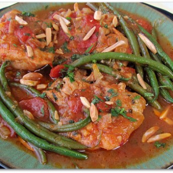 Moroccan chicken with Green Beans