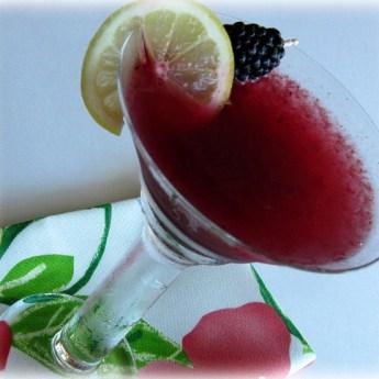 Blackberry Lemonade Martini