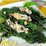 Grilled Kale, Travis Lett recipe for grilled kale, Gjelina grilled kale