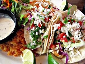 Mi Casa, mahi mahi tacos, healthy mexican food