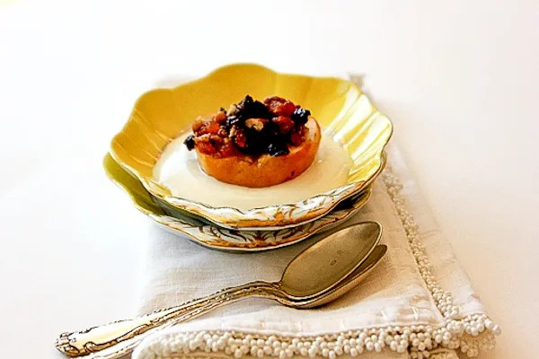 Baked Apples Stuffed w/ Dried Cherries, Apricots & Pecans