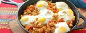 Pork Skillet Hash, breakfast hash