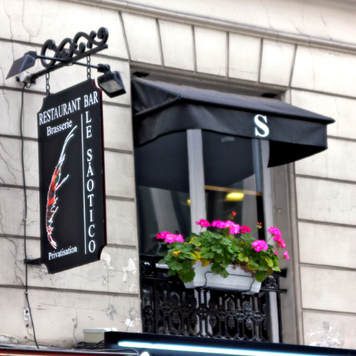 Le Saotico, Paris, modern French food