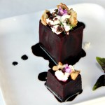 Beet Salad with Goat Cheese, Walnuts and Balsamic Reduction, 5 Star Makeover