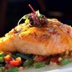 Savannah Chop House Citrus Salmon