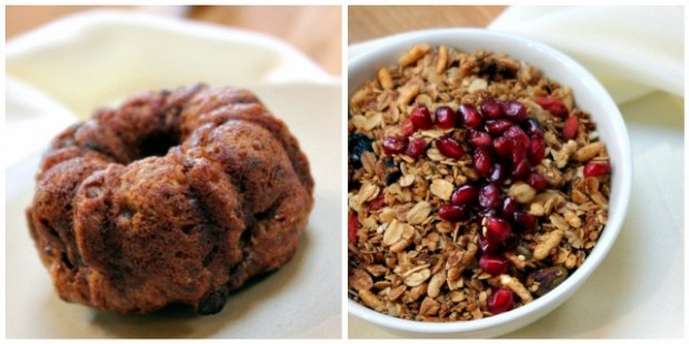True Food Kitchen Gluten Free Muffin, Gluten Free Granola
