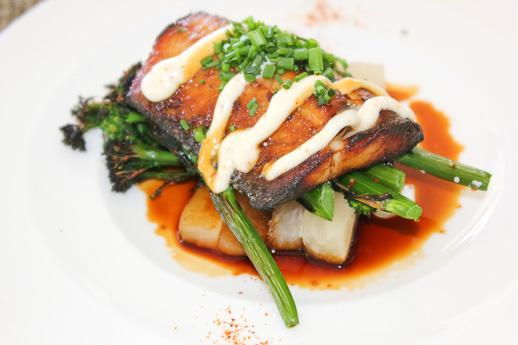 Raya, The Ritz Carlton Laguna Beach, black cod
