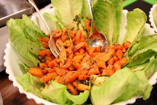 Moroccan spicy glazed carrot salad, carrot salad