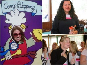 Camp Blogaway collage