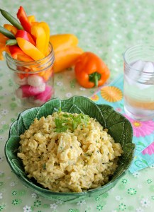 Curry Cauliflower Dip