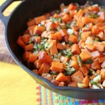 Sweet Potato, Poblano, and Black Bean Tacos | ShesCookin.com