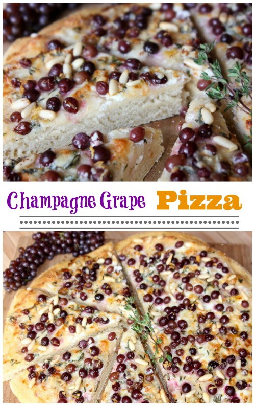 CHAMPAGNE GRAPE PIZZA