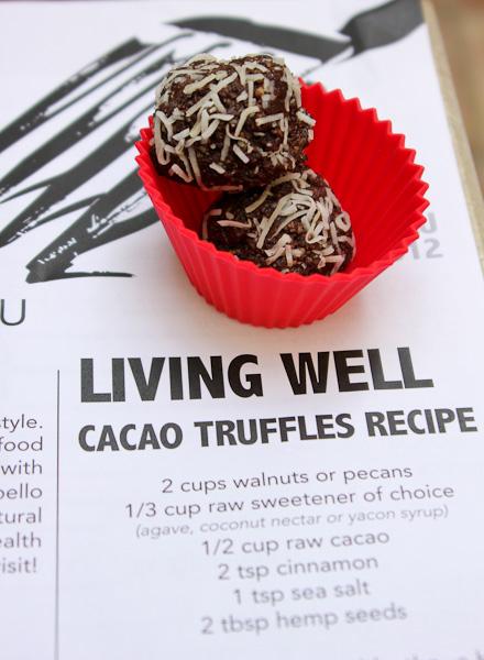 Raw Vegan Cacao Truffles