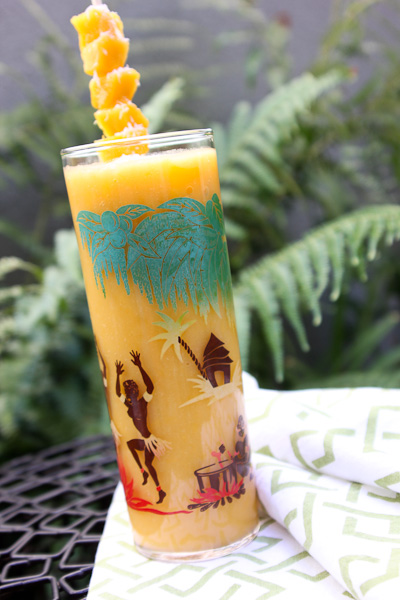 Blended White Tea with Mango and Coconut