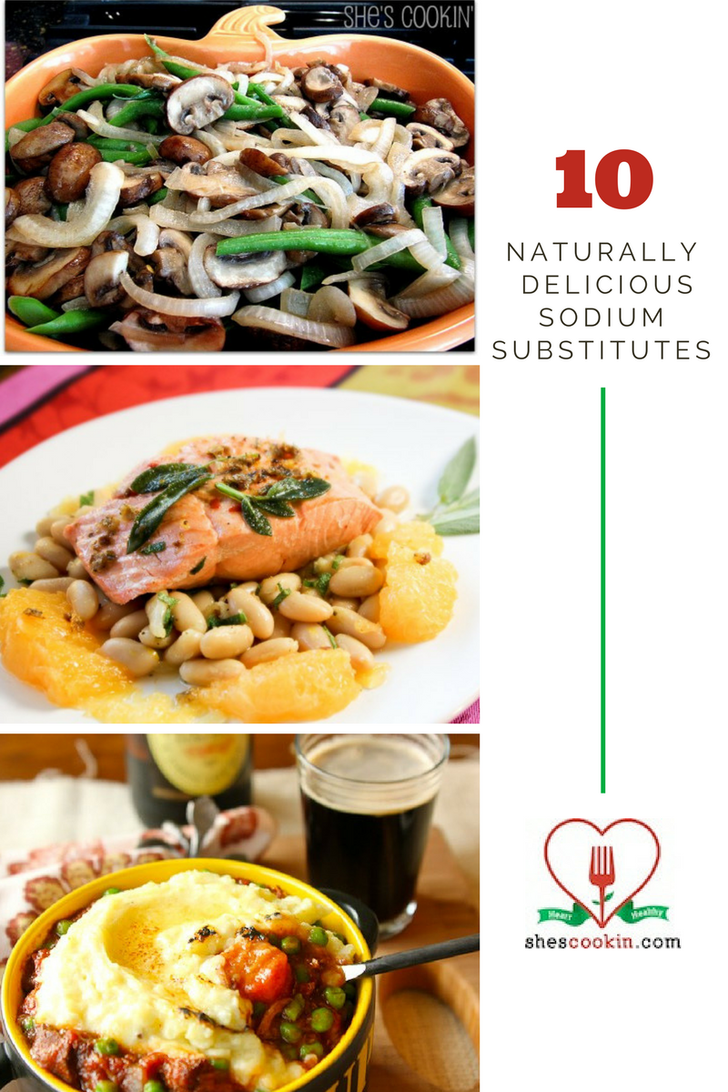10 Naturally Delicious Sodium Substitutes | ShesCookin.com