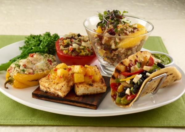 Seasons 52 Autumn Vegetarian Tasting