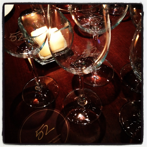 Seasons 52, fall menu and wine tasting
