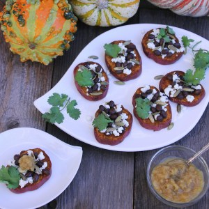 Smoky Sweet Potato Crostini