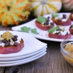 Smoky Sweet Potato Crostini | ShesCookin.com