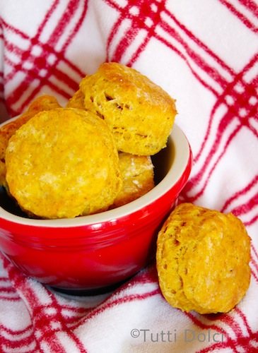 Thanksgiving pumpkin recipes, Pumpkin spice biscuits