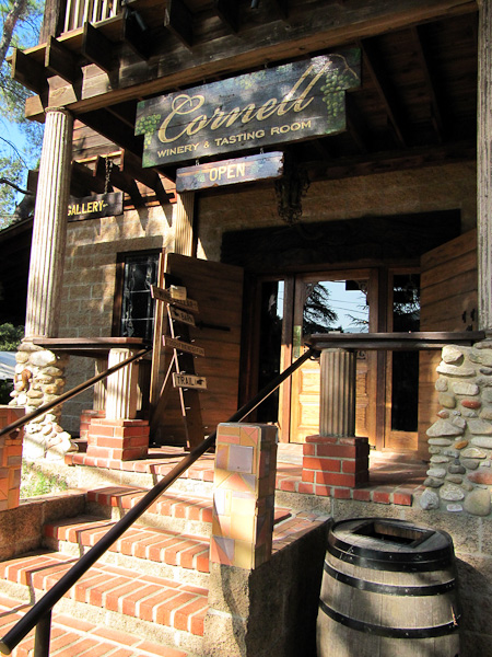 Cornell Winery Tasting Room, Malibu, Los Angeles day trip