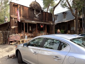 Acura ILX, The Old Place restaurant, Malibu day trip