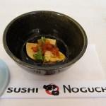 Sushi Noguchi, monkfish liver