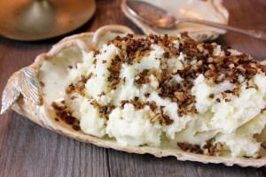 Truffled Mashed Potatoes   ShesCookin.com