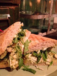 grilled chicken panini, Greenleaf Costa Mesa