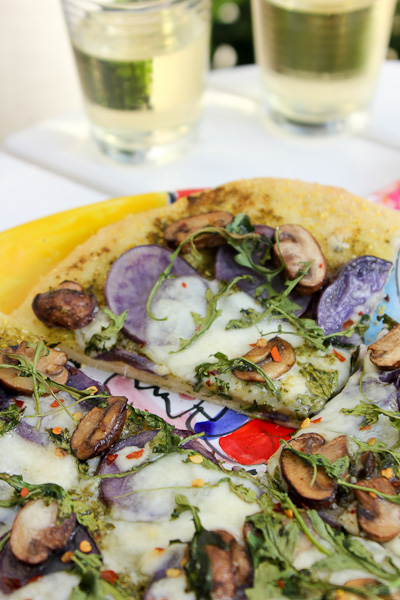 Purple Potato Pizza