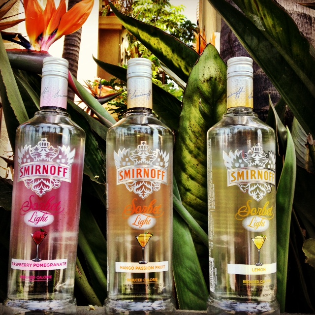 Smirnoff Sorbet Light summer cocktails