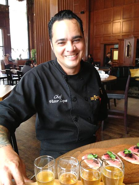 Chef Victor Lopez