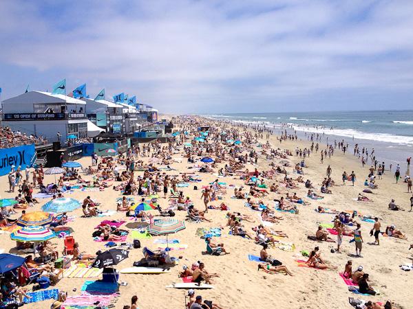Vans U.S. Open of Surfing, Huntington Beach, CA | Priscilla Willis, ShesCookin.com