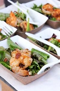Grilled Shrimp and Pear Salad, Hard Rock Cafe San Diego