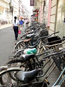 Shanghai bicycles