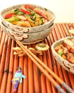 Teriyaki Chicken Shirataki Yakisoba