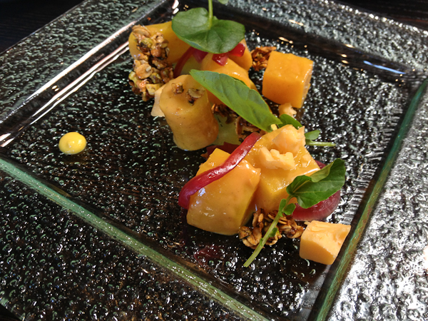 Golden Beet Salad w/ Pistachio Granola - The Blind Pig