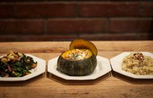 Avanti Cafe, Vegan Thanksgiving