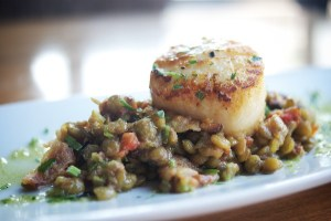 scallop cassoulet