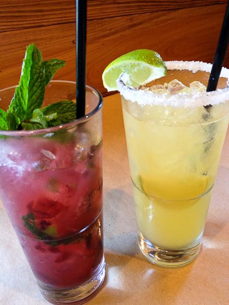 Parker's Margarita, Black Cherry Guava Mojito