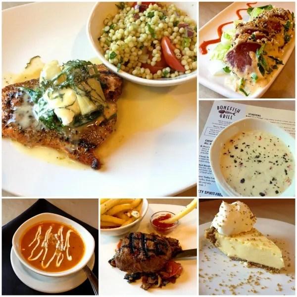 Bonefish Grill Collage