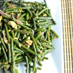 Chinese Long Beans with Smoky Date Sauce, Chinese New Year recipes