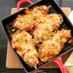 Eggplant Parmesan with Fresh Mozzarella   ShesCookin.com