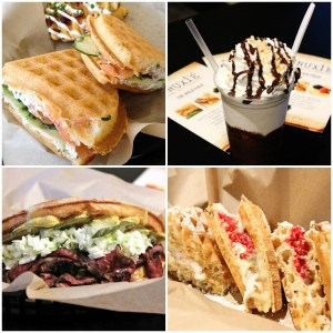 Bruxie Waffle Sandwiches | ShesCookin.com